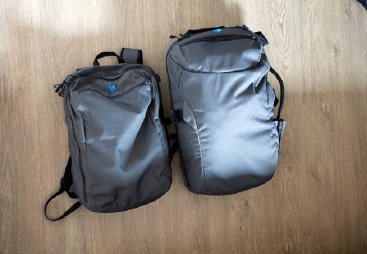 Два рюкзака- ручная кладь