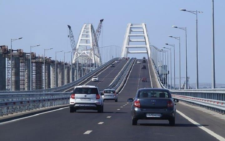 Самостоятельно по мосту в Крым