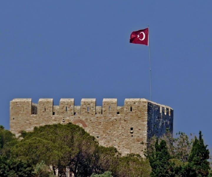 Турция Мармарис. Достопримечательности крепость