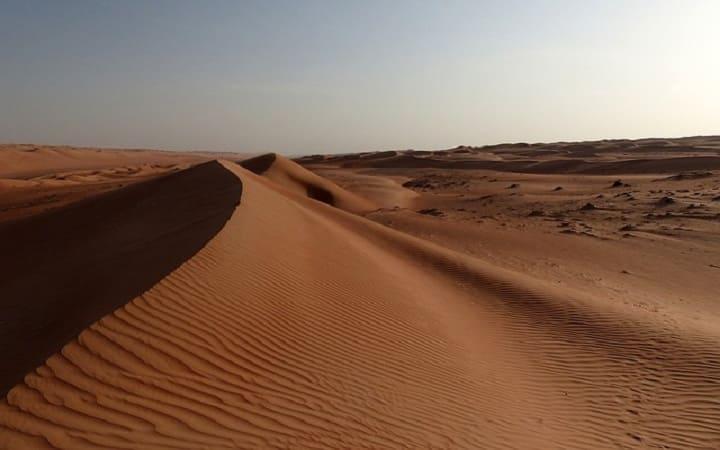 Самая жаркая пустыня Руб-эль-Хали