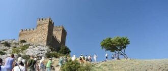Крепость в Судаке в Крыму