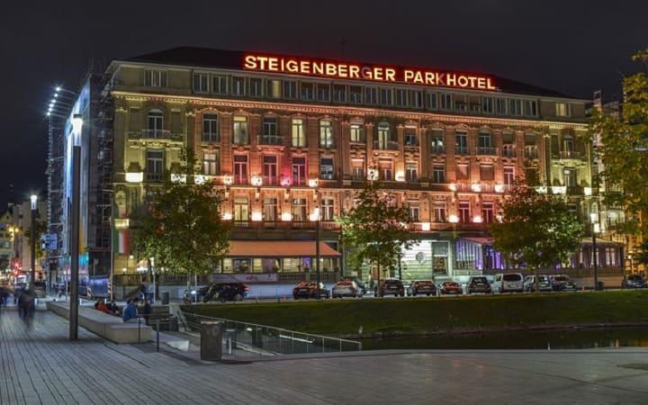 отель в городе