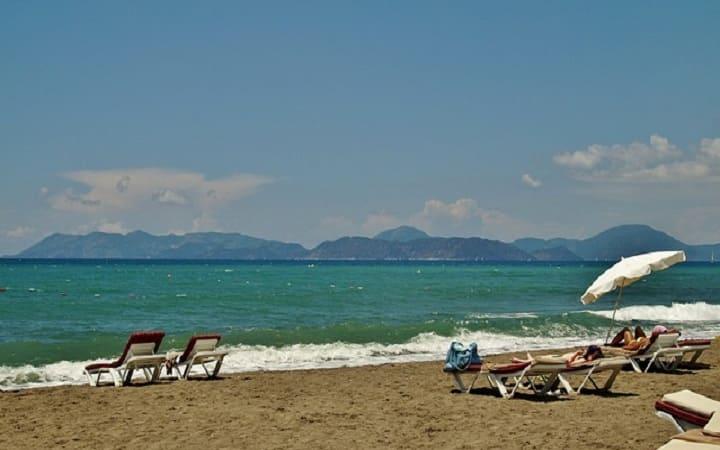 Турция Мармарис море песок пляж