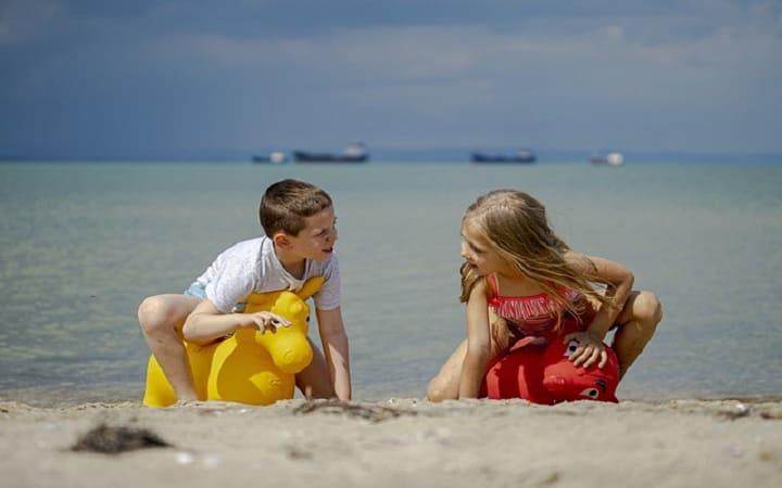 отдых с детьми на море в россии