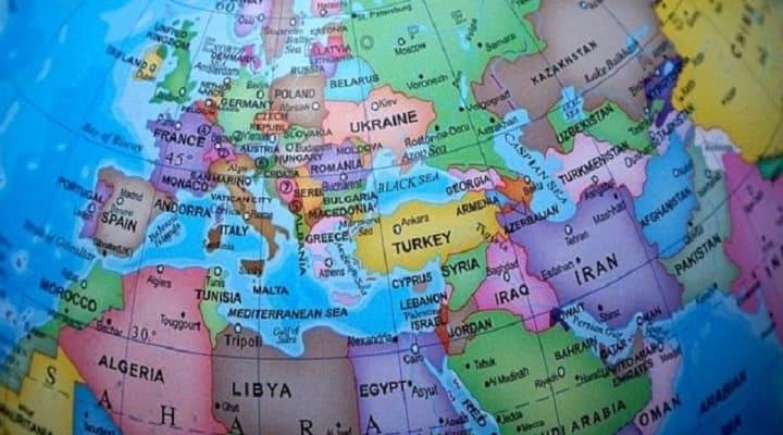 с какими странами безвизовый режим у России карта