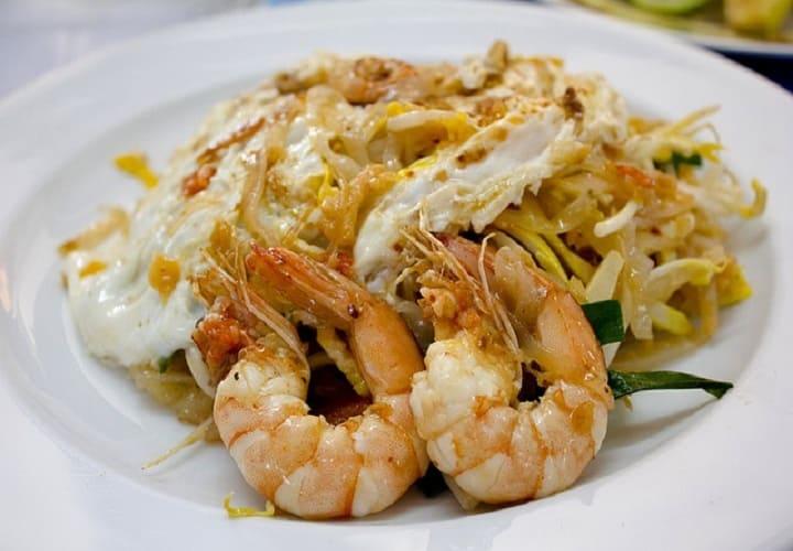 азиатское второе блюдо – Пхат Тхай