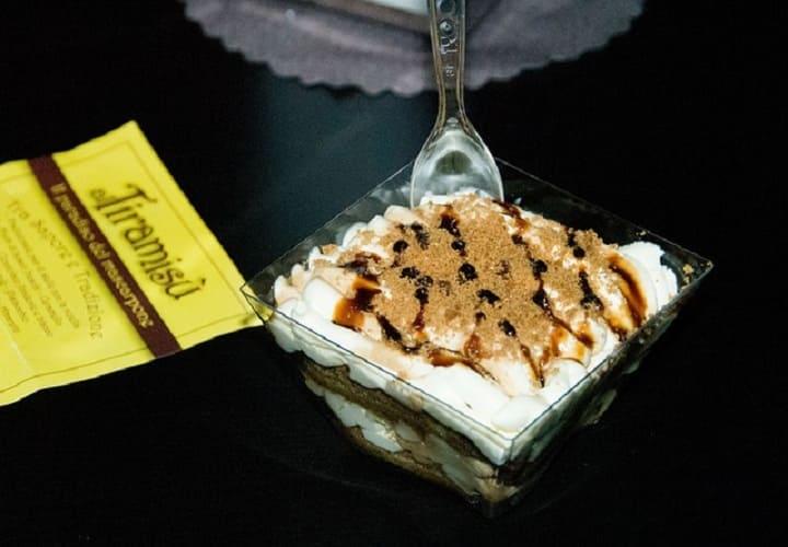Вкусный десерт тирамису