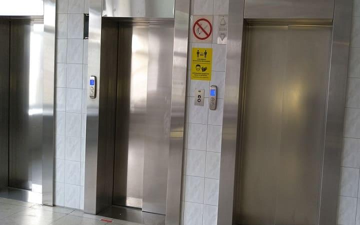 Лифт в отеле Россия