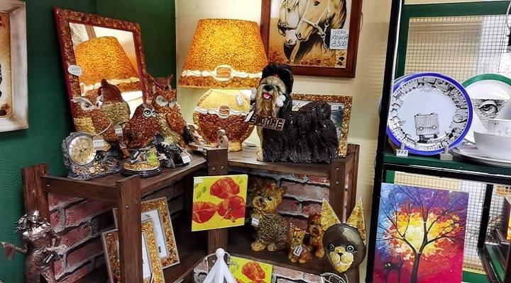подарки из янтаря из Калининграда